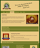 Craft Beer page with jQuery Accordion and custom labels